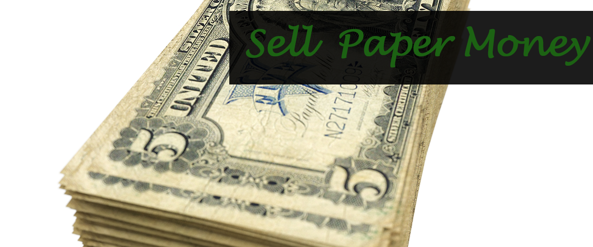 Sell Paper Money